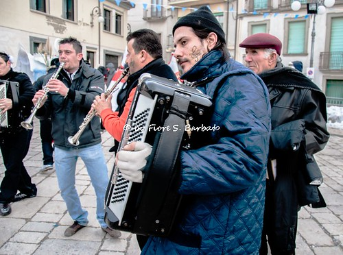 Montemarano (AV), 2009, Carnevale.
