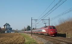 Thalys PBA 4539 en UM - Photo of Montracol