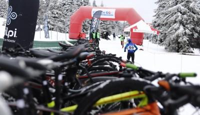 Mistry republiky v zimním triatlonu jsou Kočař a  Brychtová