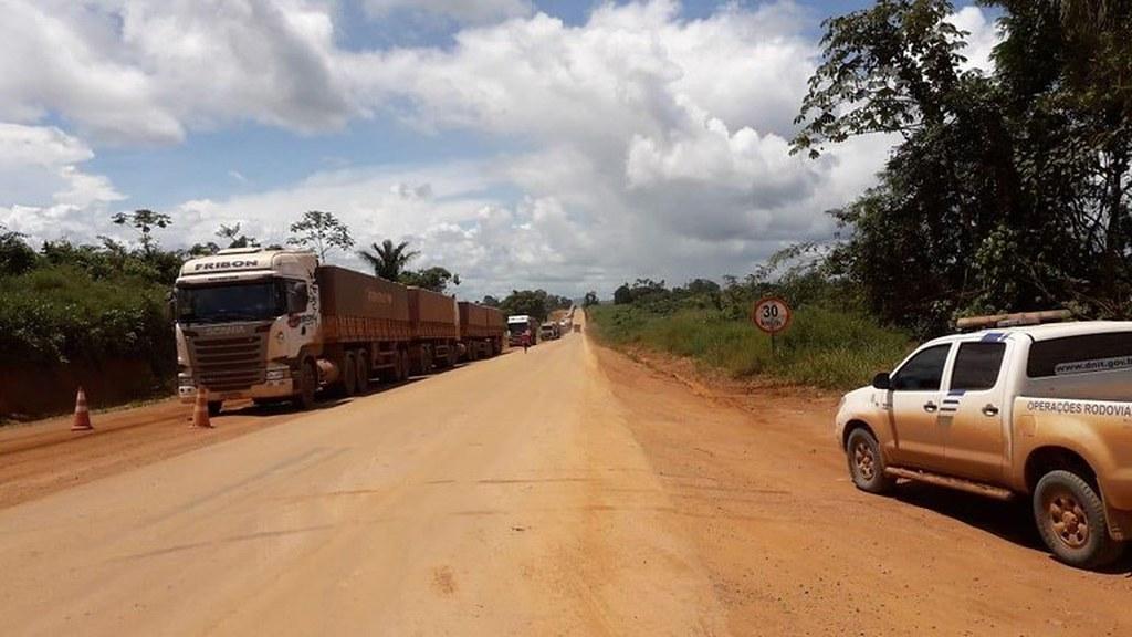 Governo tem R$ 200 milhões para concluir asfalto da BR-163 até o final do ano, diz ministro , BR 163