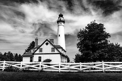 2019-067/365 Wind Point Lighthouse
