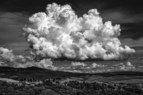 Le Nuvole (versione bianco&nero) - The Clouds (Black&White version)