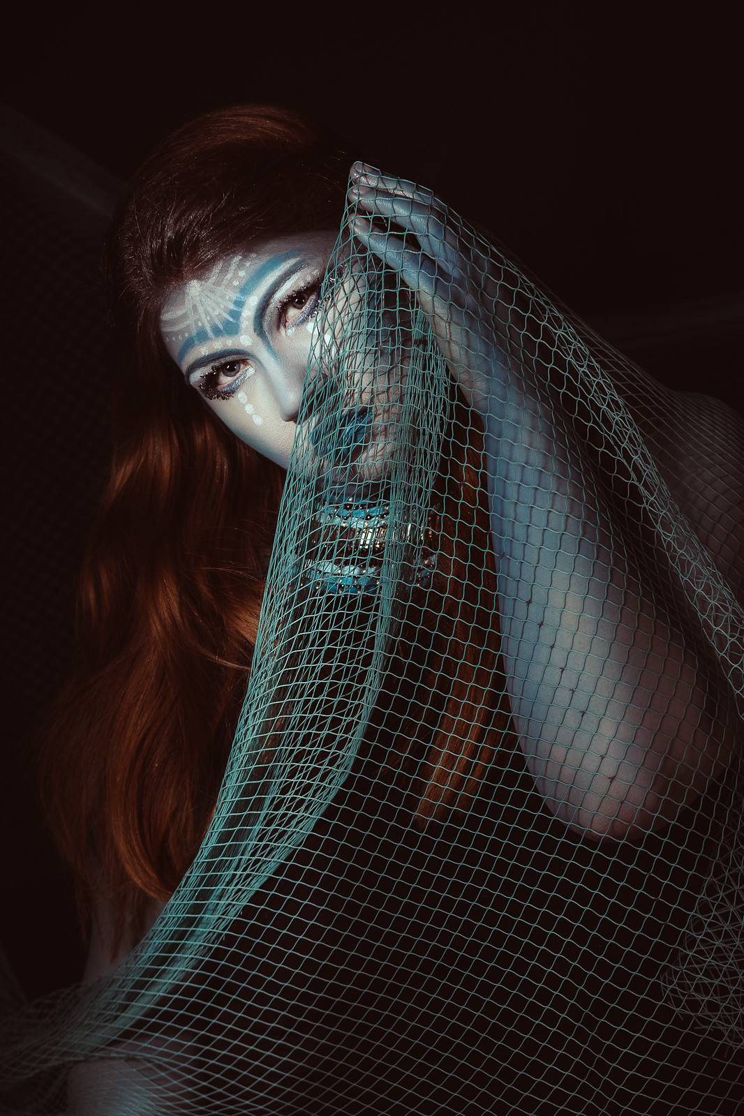 In the web / Creative self-portrait / MUAH by me
