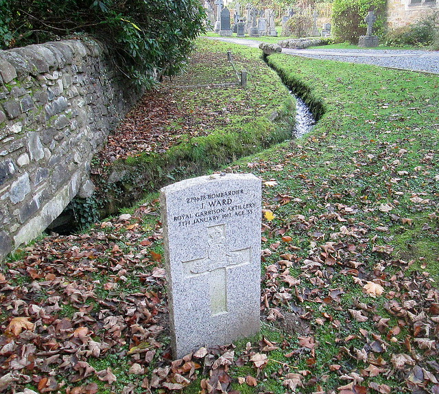 War Grave, Holy Trinity Church, Pitlochry