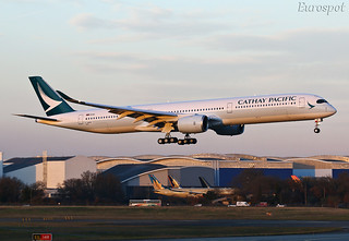 F-WZFB Airbus A350 Cathay Pacific