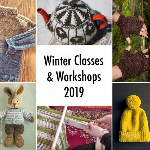 Winter Classes 2019 have been posted! Register soon!