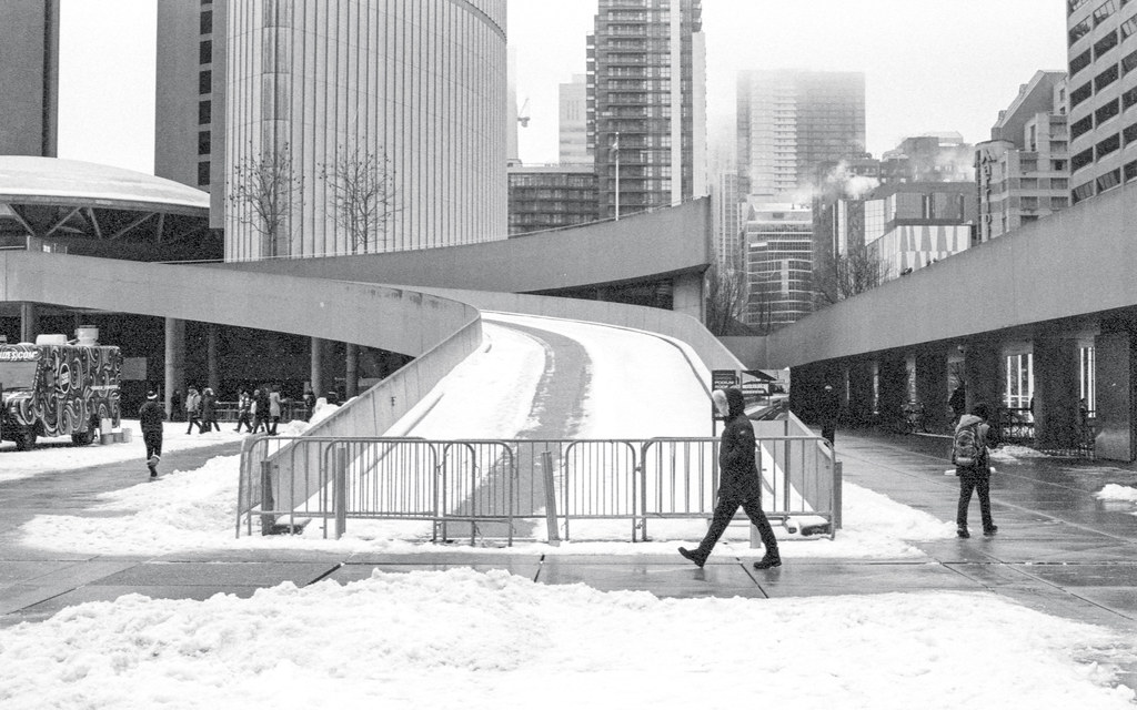 Closed Ramp at Nathan Philips Square