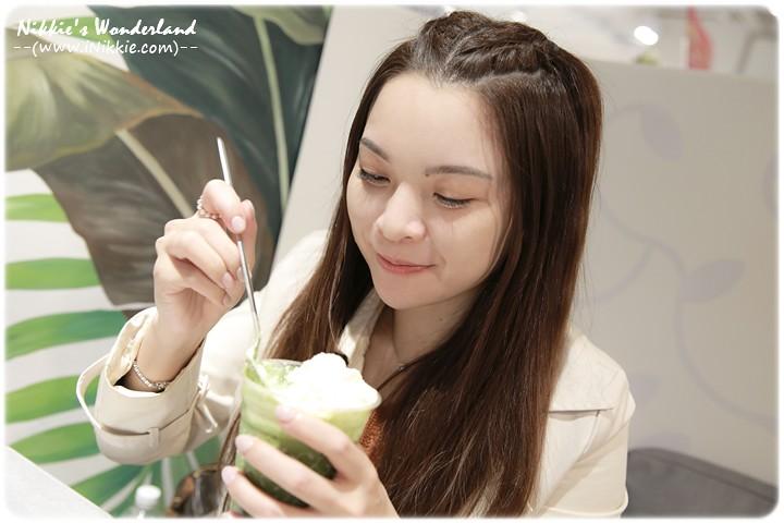 nana's green tea 抹茶白玉紅豆奶霜拿鐵
