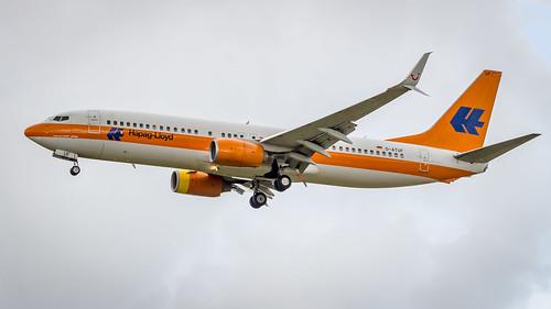 Boeing 737-8K5(WL) D-ATUF TUIfly - Hapag Lloyd Retro Livery