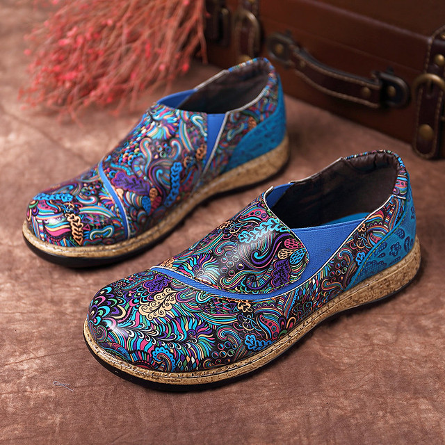 My pattern on Socofy loafers