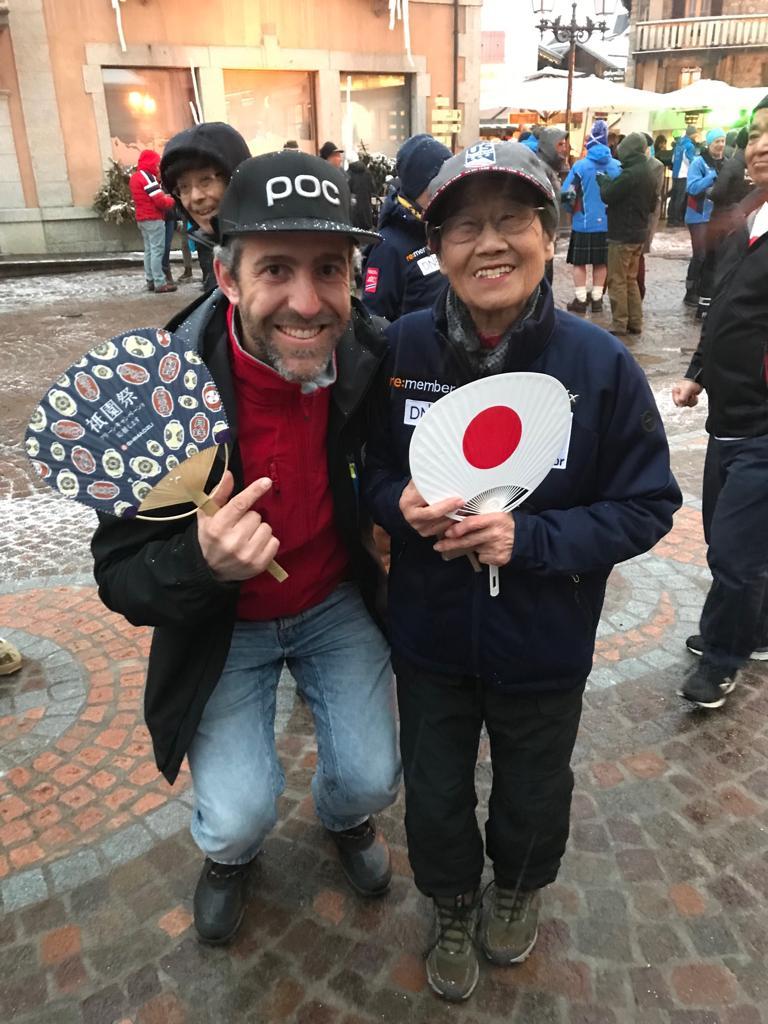 Pepo Barreiro y Kaoru Homma