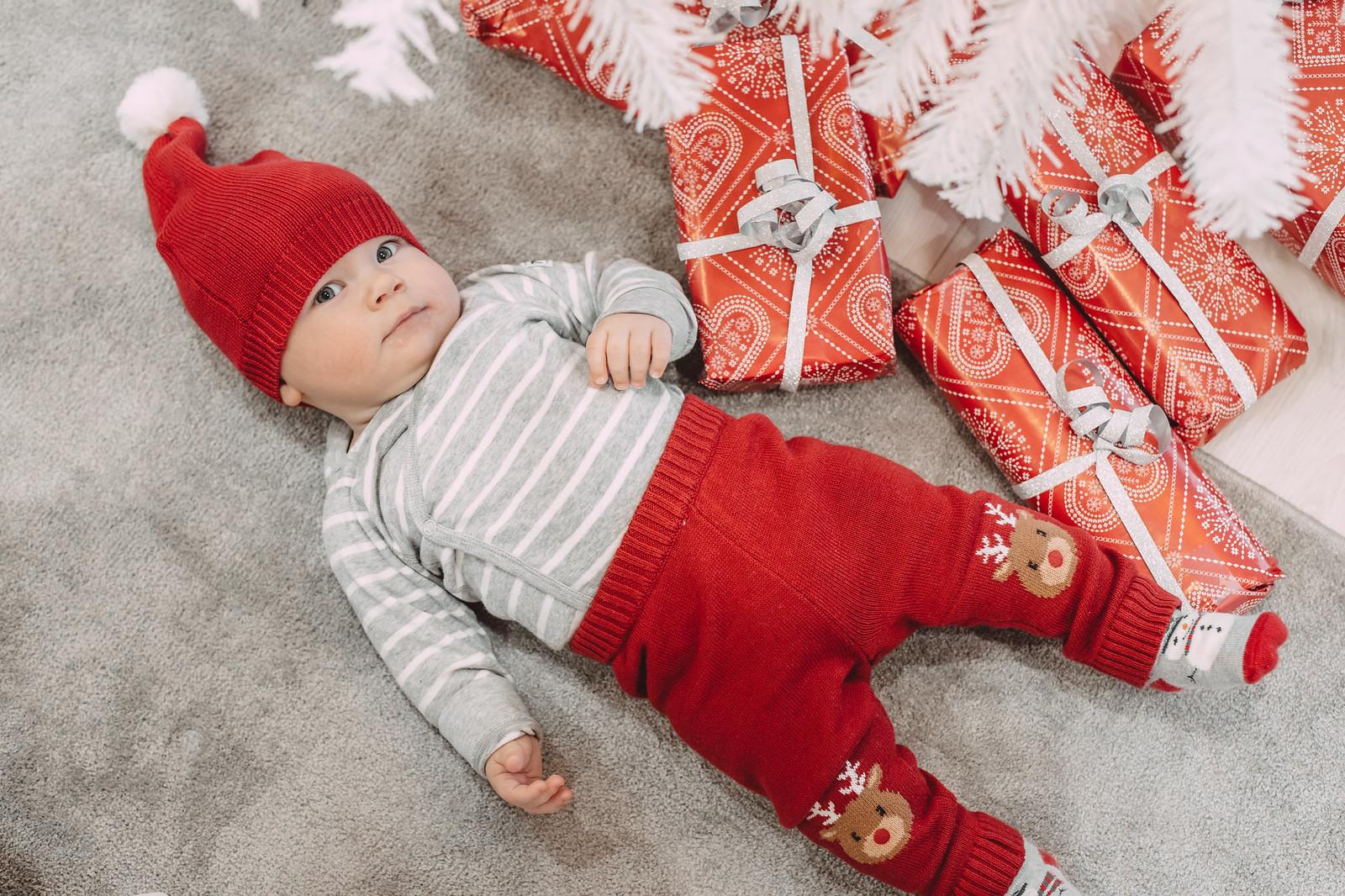 vauvan jouluasu