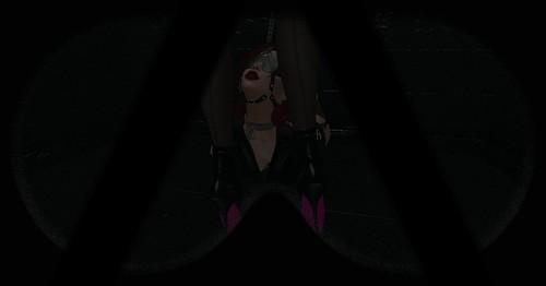 Blindfold + Harness Gag 2