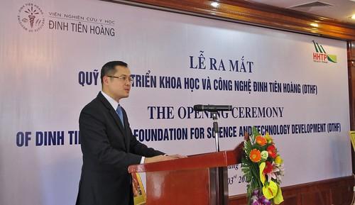Establishment of Dinh Tien Hoang Foundation