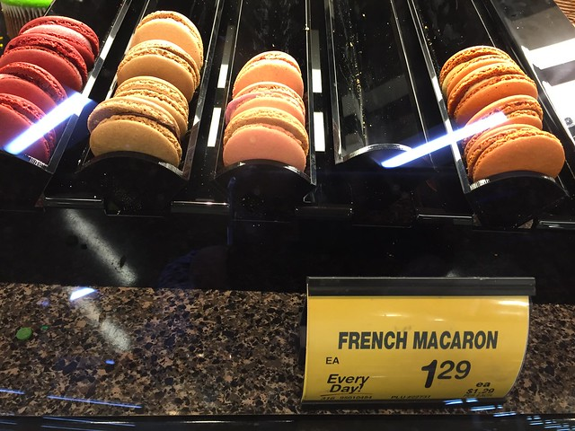 French macarons at Safeway