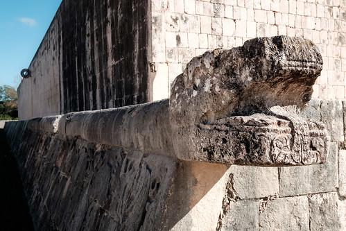 Campo de juego de pelota | Chichén Itzá