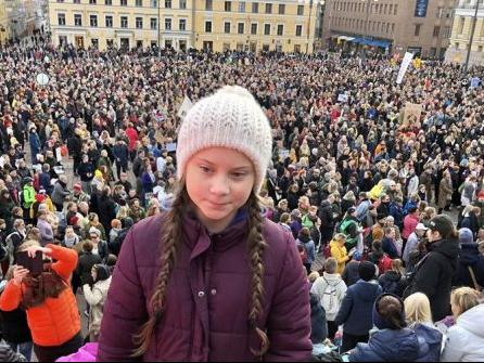 cambiamenti climatici protesta studenti