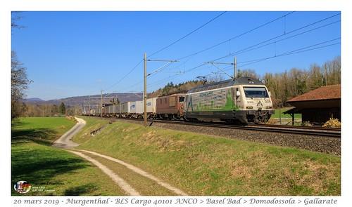 Re 465 + 425 BLS - Murgenthal