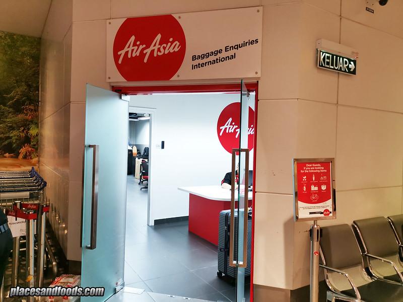klia2 airasia baggage enquiries
