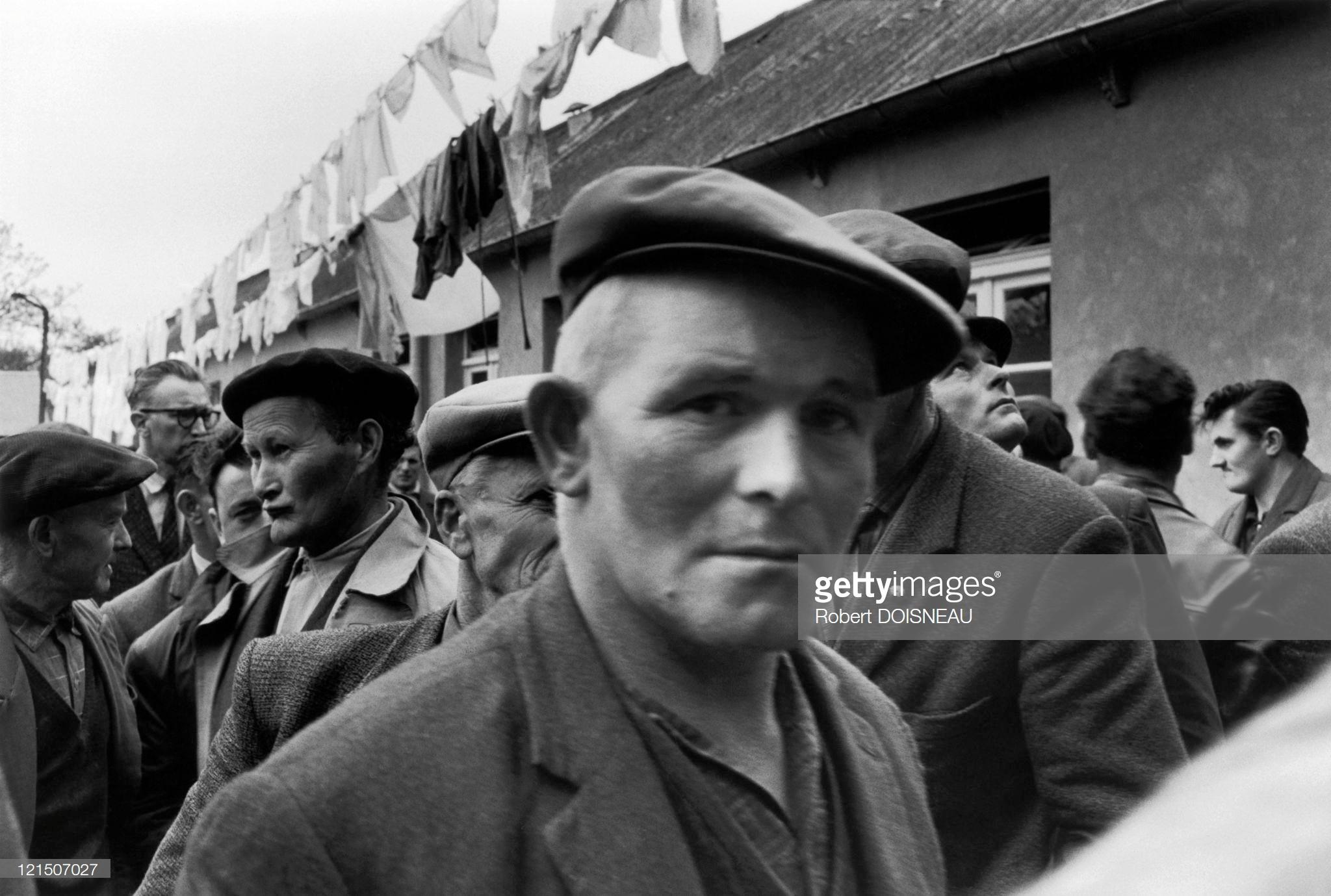 1964. Демонстрация в Бретани