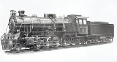 Angola Railways - CFA 2-8-2 steam locomotive Nr. 142 (Arnold Jung Locomotive Works 1956)