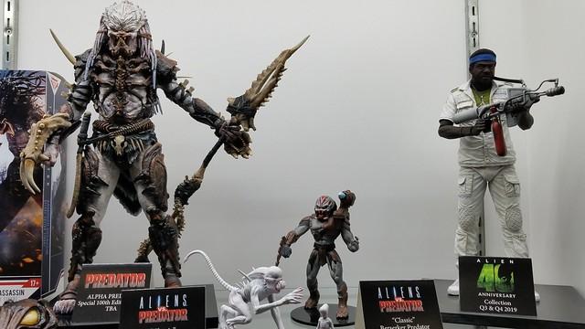 【NYTF2019】NECA《哥吉拉II:怪獸之王》、《忍者龜》、《異形》、《終極戰士》、《水底情深》...... 以及眾多恐怖片新作公開!!