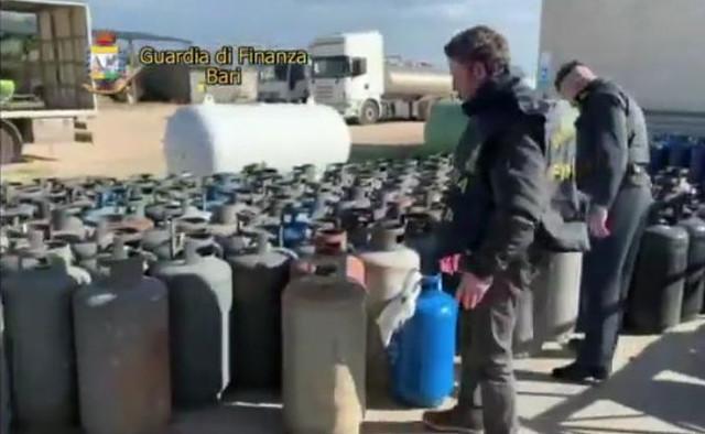 sequestro bombole gas illegali