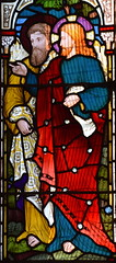 Christ and St Philip at Bethany (Heaton, Butler & Bayne, 1870s)