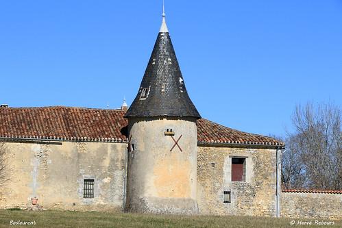 24 La Chapelle-Faucher - Manoir de Boslaurent  XIV XIX