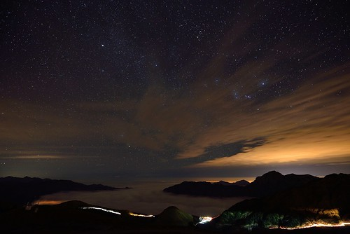 Starry night @合歡山_Hehuanshan_Taiwan