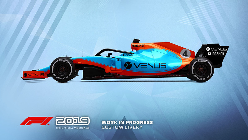 F1 2019 Livery Design 3
