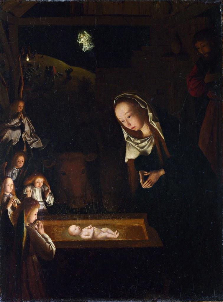 Geertgen tot Sint Jans - The Nativity at Night