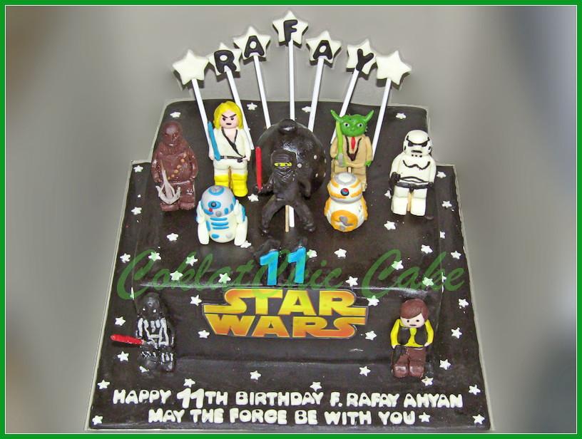Cake StarWars RAFAY 24 cm
