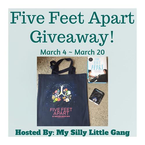 Five Feet Below Giveaway