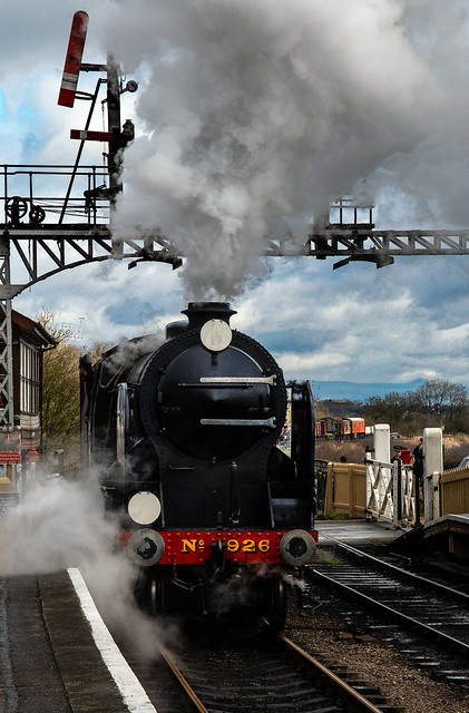 Steaming in..