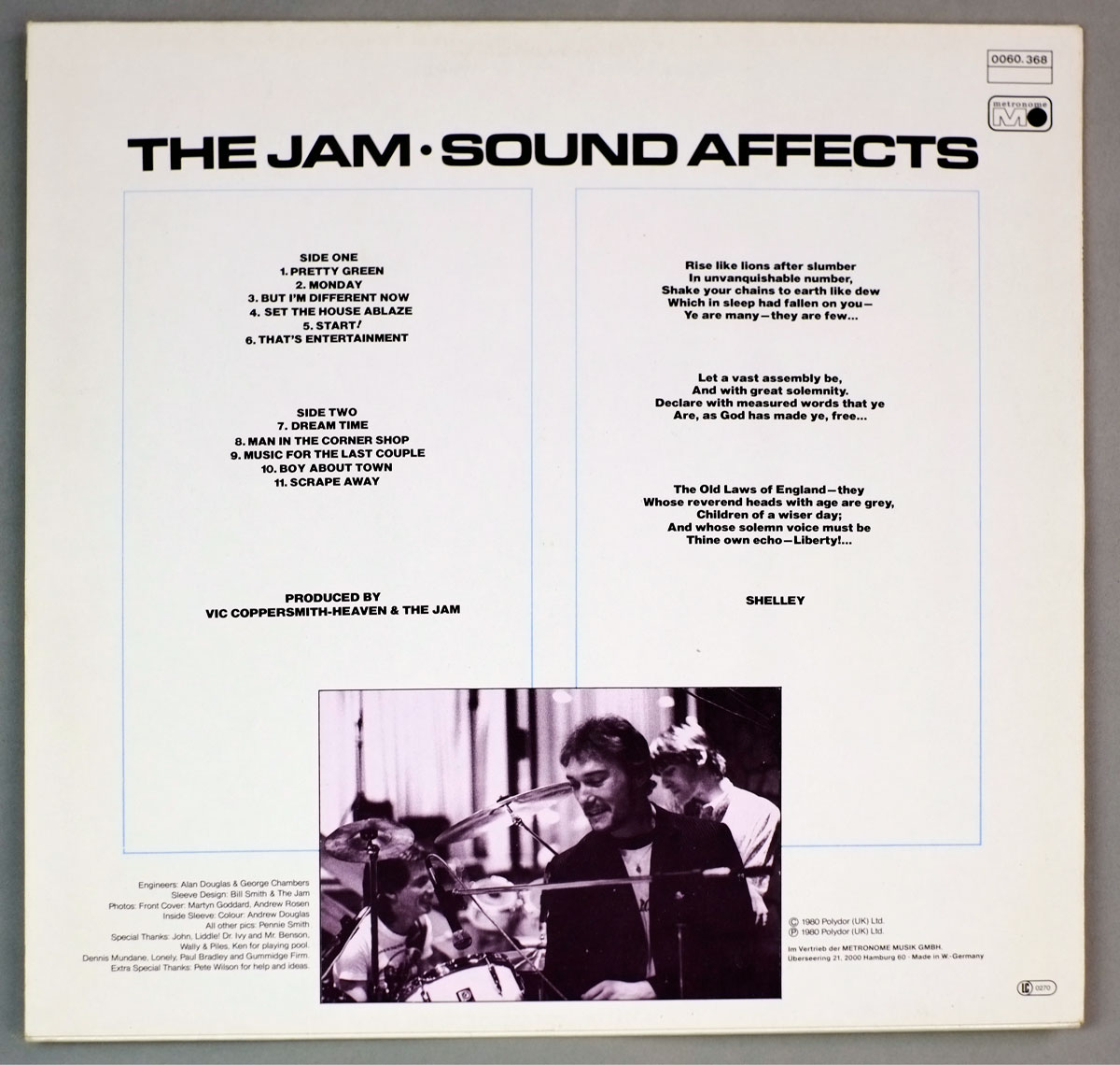 A0106 Jam, The Sound Effects