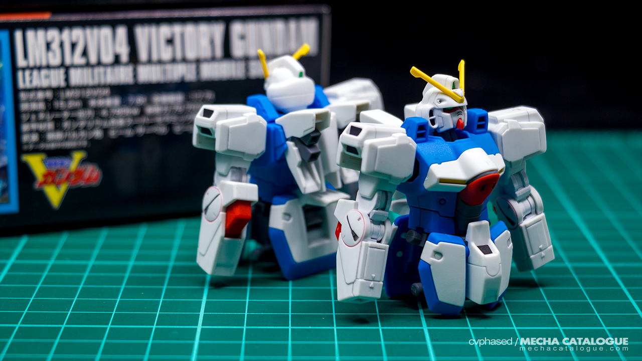 Work-in-Progress #2: HGUC Victory Gundam(s)