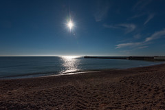 Sun over Hastings Harbour Arm