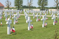 Somme American Cemetery Bony Picardy France - Photo of Vendhuile