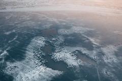Ice patterns | Kaunas aerial