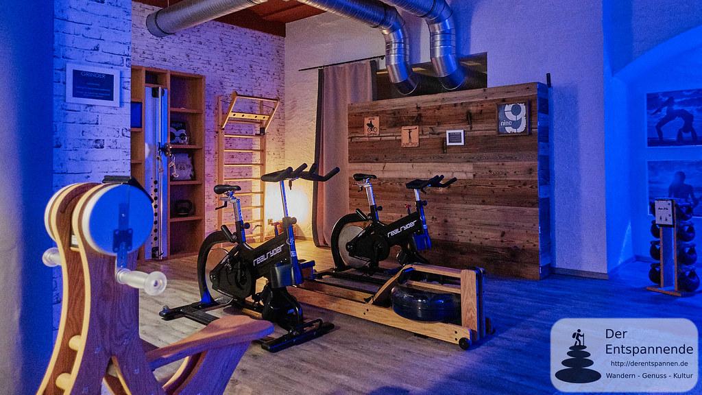 Gym im Nägler's Fine Lounge Hotel