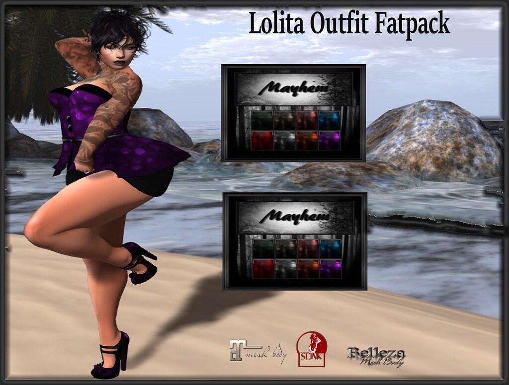 Mayhem Retro Lolita Outfit Fatpack AD