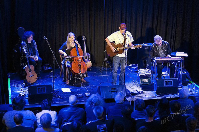 Michael Chapman at The Continental, Preston with Bridget St John, Sarah Smout and B J Cole