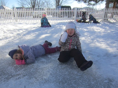 ice sliding