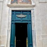The doors of Santa Maria Sopra Minerva (Rome's only Gothic Church), Piazza della Minerva. Rome. - https://www.flickr.com/people/50141284@N04/