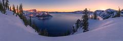 Crater Lake's blush