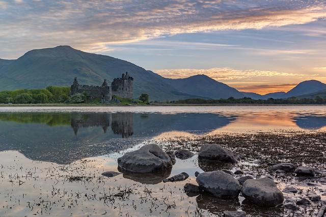*Loch Awe / Kilchurn Castle - golden hour*
