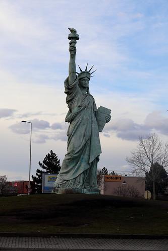 Statue De La Liberté. Colmar. France. IMG_4881
