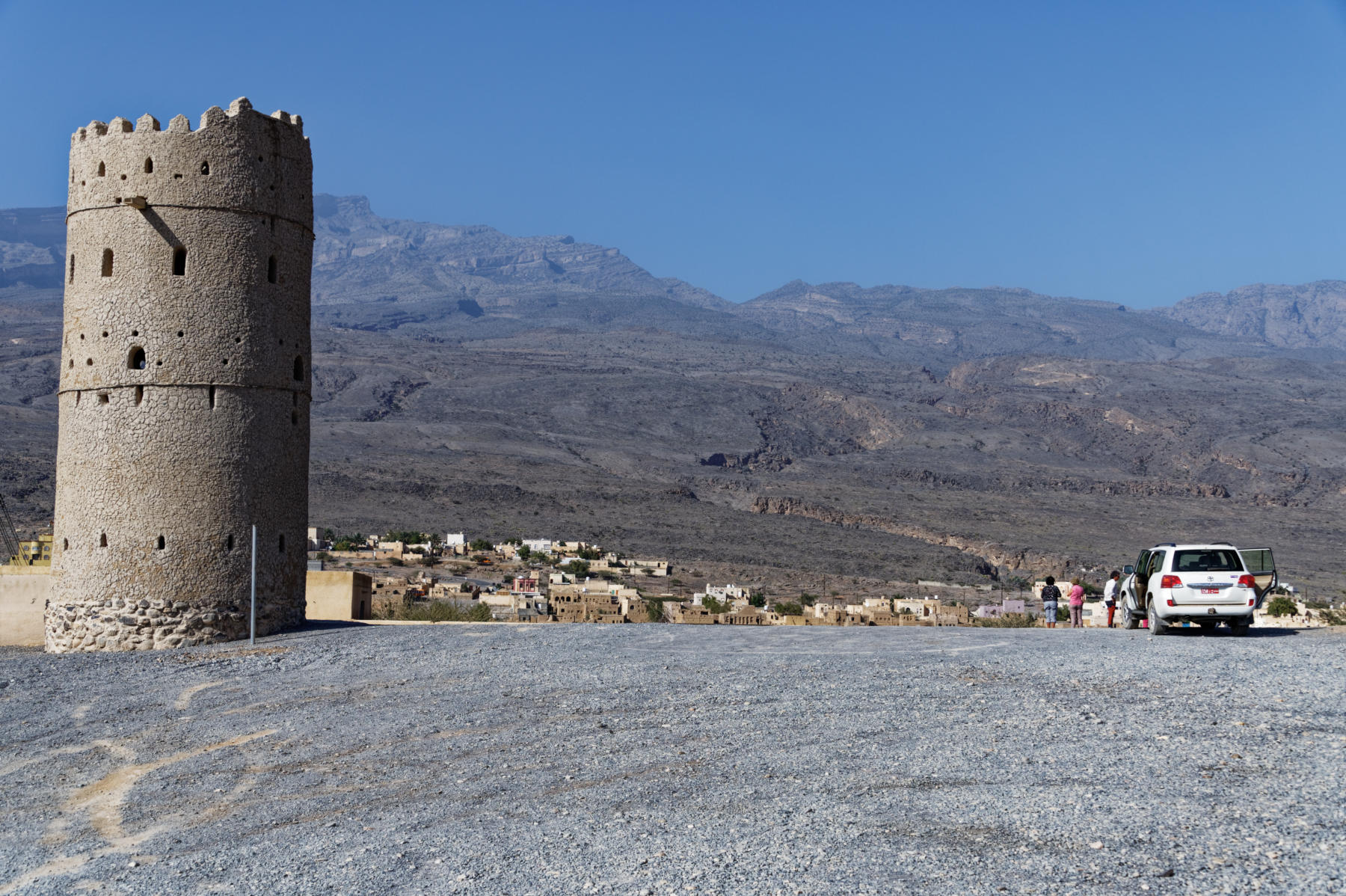 Al Hamra's Watch Tower. Oman