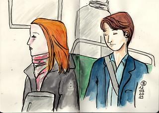 red hair- RERB - Paris